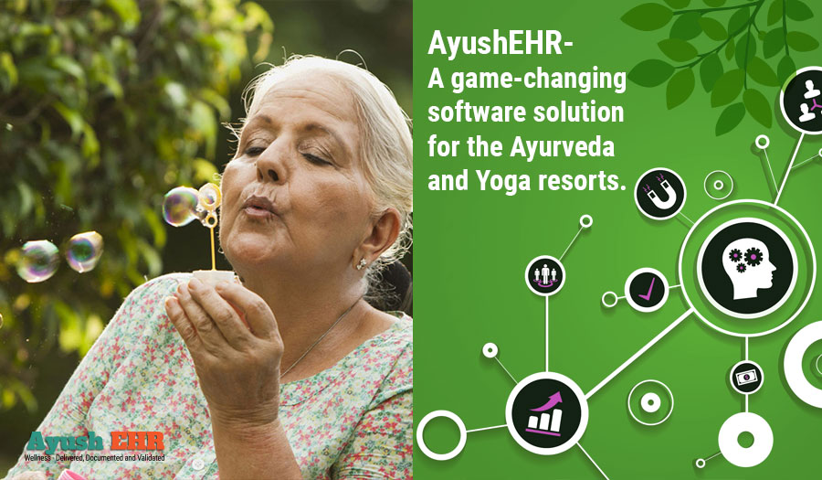 AyushEHR- A game-changing software solution for the Ayurveda and Yoga resorts.