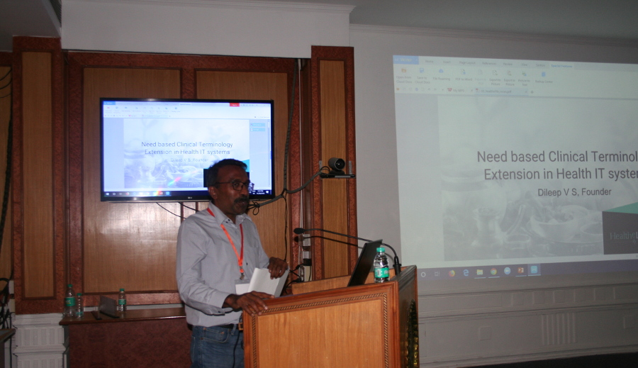 Keynote address at EHR standards user meet, AIIMS, New Delhi